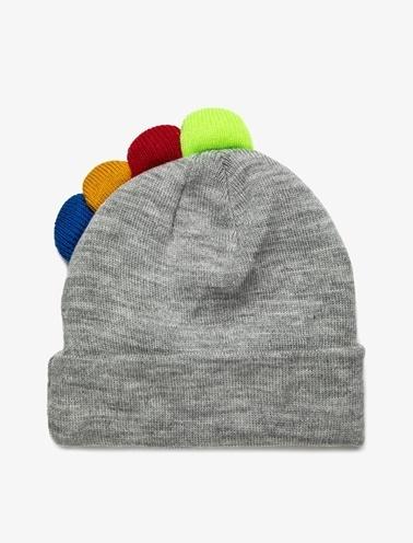 Koton Kids Ponpon Detaylı Şapka Gri